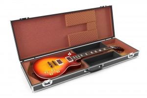 Hardshell flight guitar case