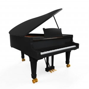 Expensive grand piano