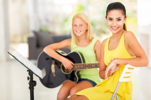 Private guitar lessons