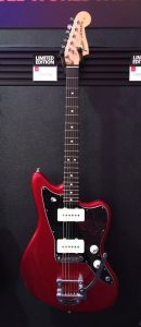 Fender jazz blues electric guitar